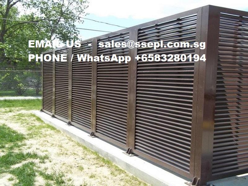 horizontal aluminum fence panels – Singapore Specialized