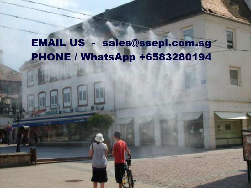 Outdoor Temperature Control System Singapore Specialized